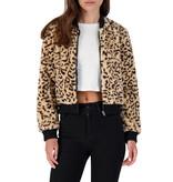 Jack by BB Dakota Meow Factor Tan Faux Fur Jacket