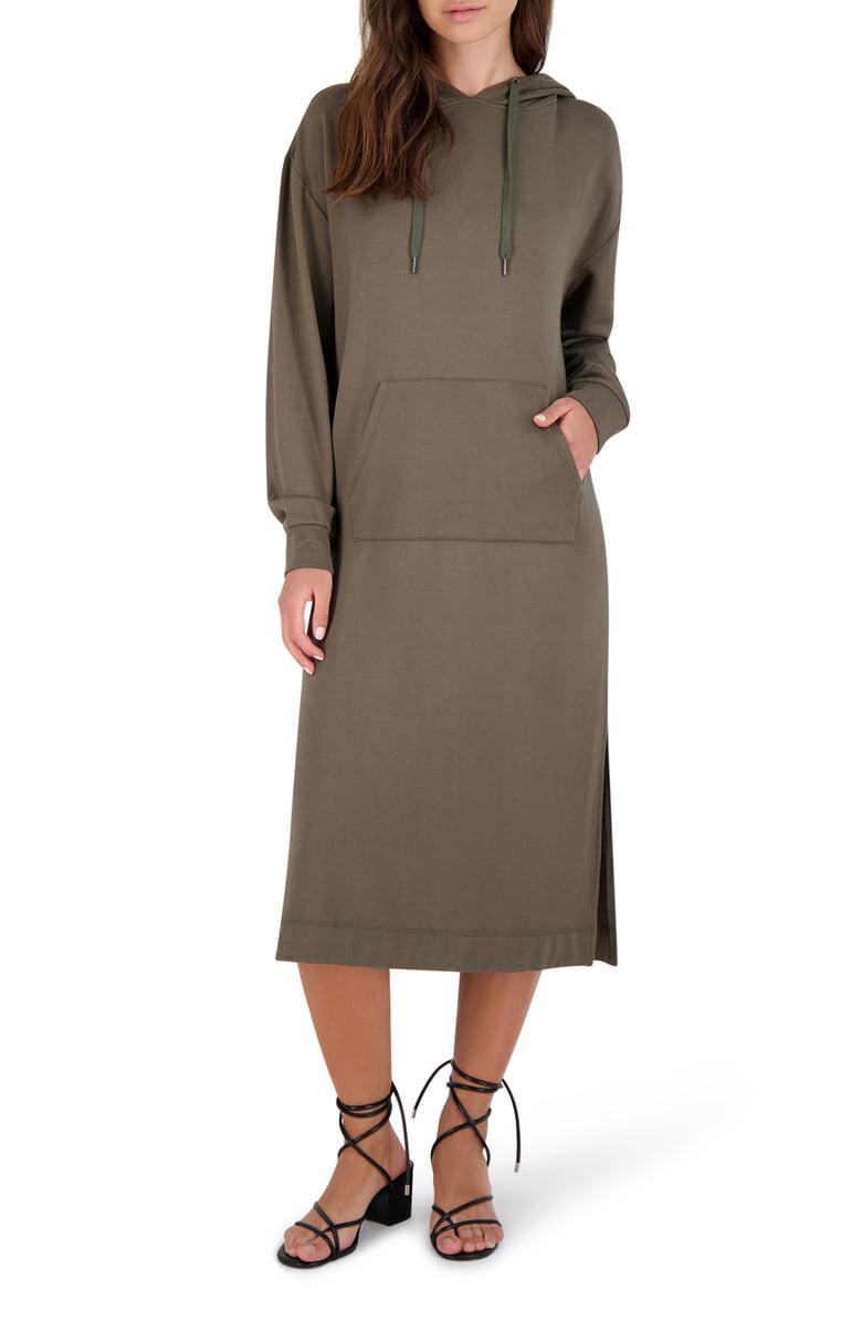 BB Dakota All Good Olive Dress