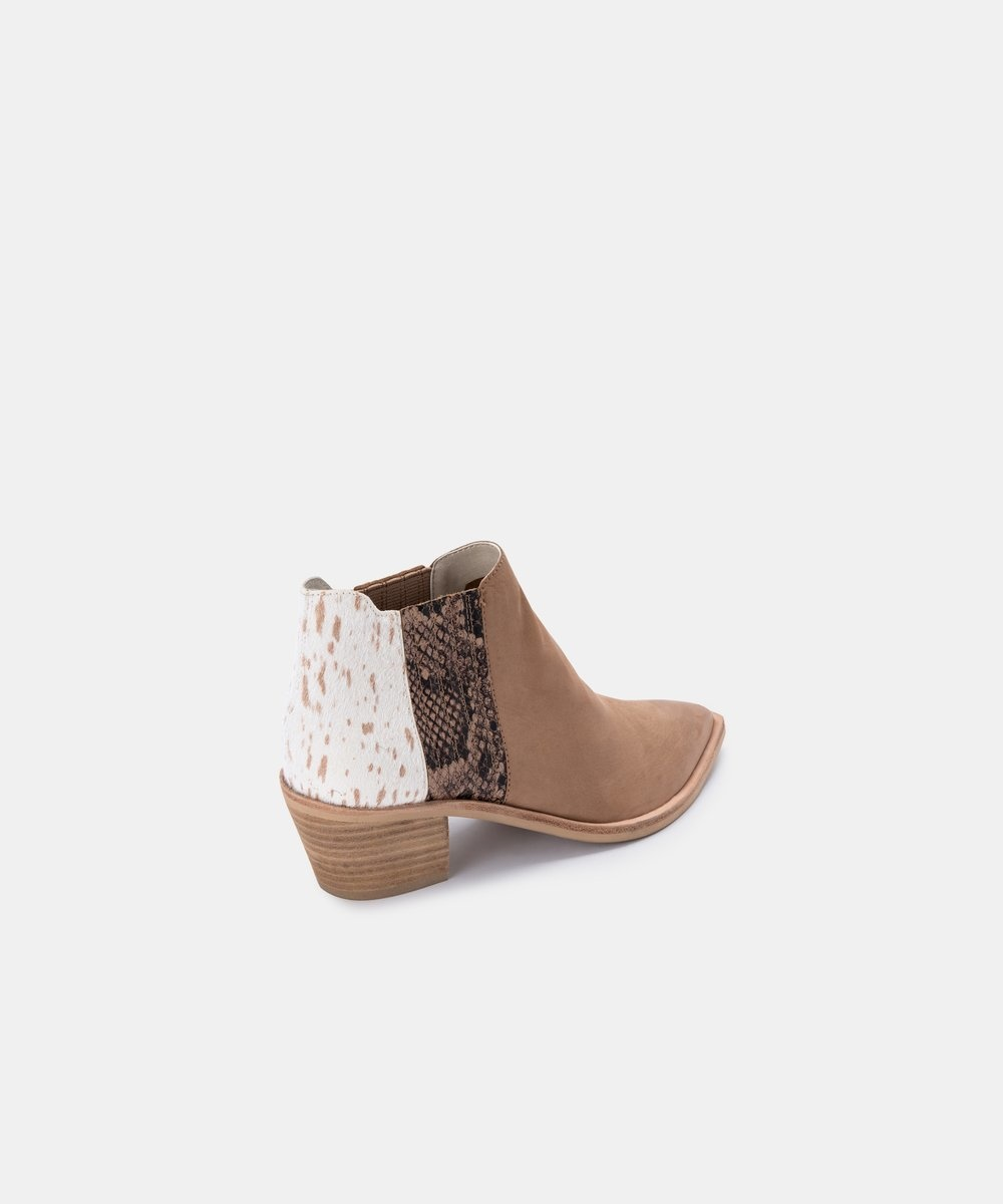 Dolce Vita Shana Multi Taupe  Bootie