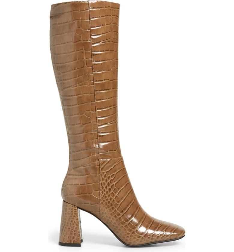 Jeffrey Campbell Patti Khaki Knee High Boot