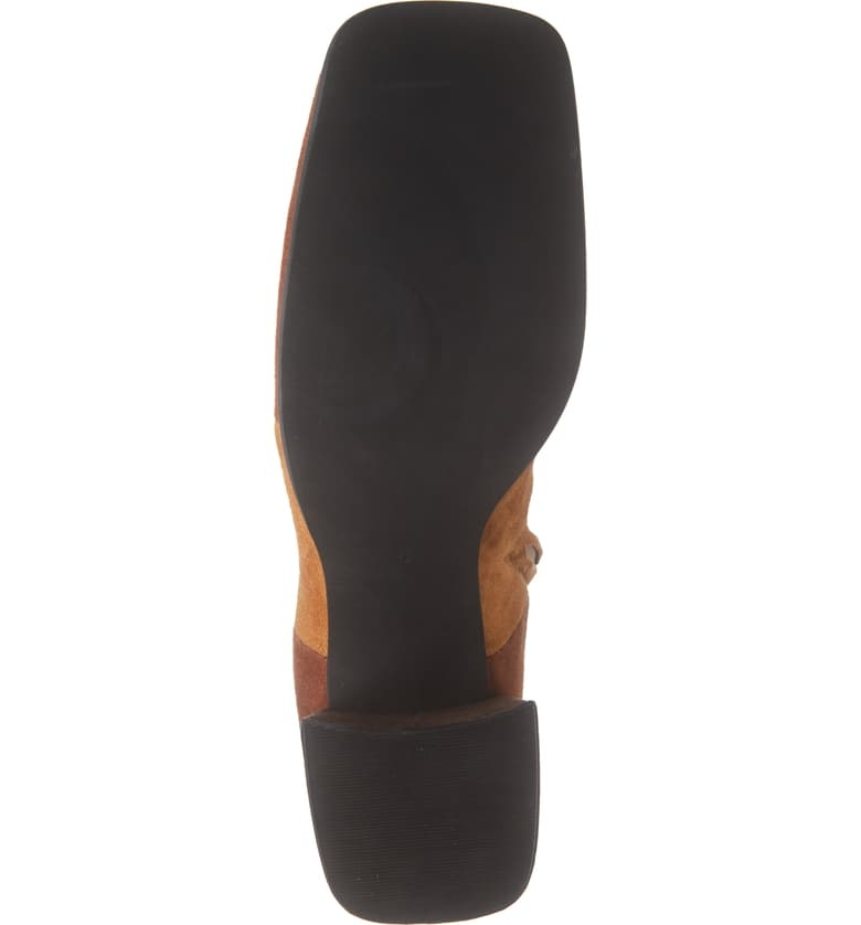 Jeffrey Campbell Lava Lamp Brown Suede Boot