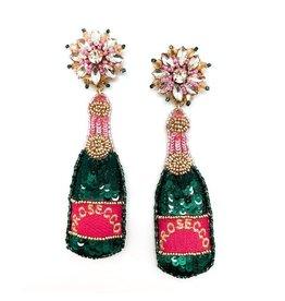 Allie Beads Prosecco Earrings