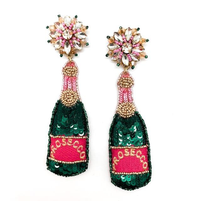 Allie Beads Prosecco Earrings