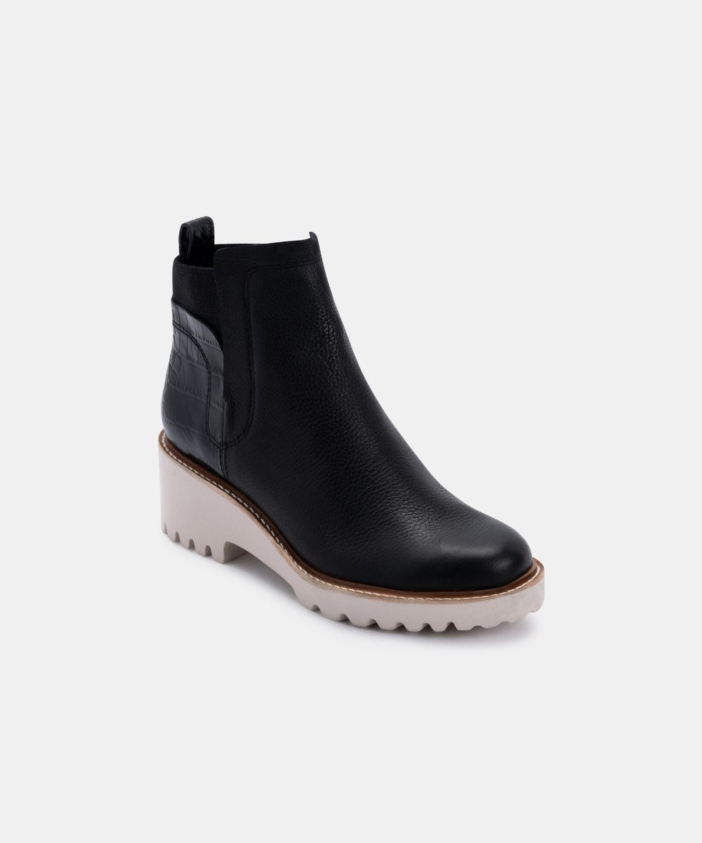 Dolce Vita Huey Black Booties