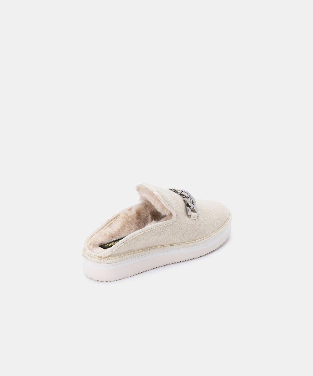 Dolce Vita Haiden Ivory Slippers