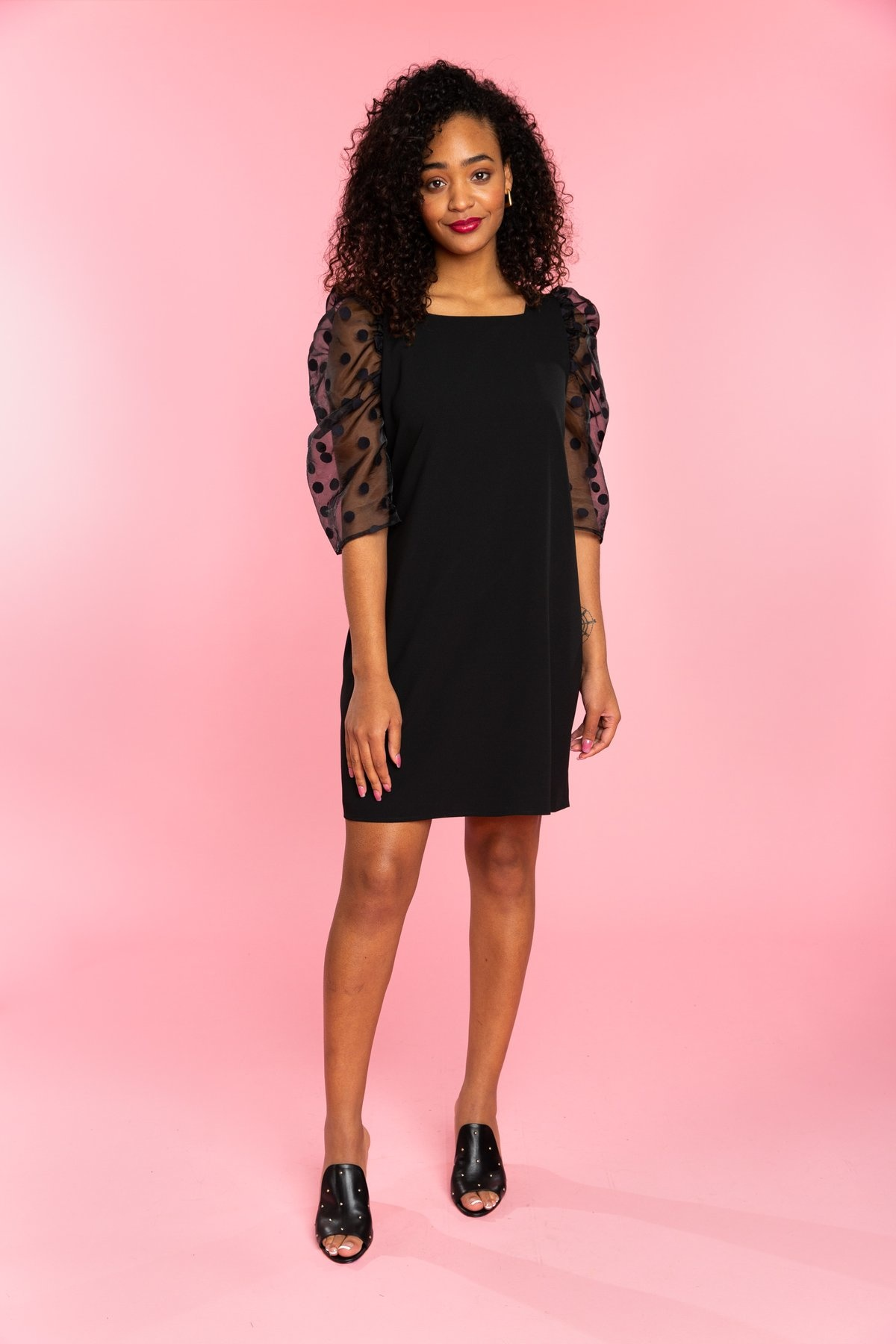 Crosby By Mollie Burch Bexley Dress Black