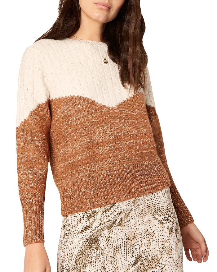 Cupcakes and Cashmere Faith Oatmeal Sweater