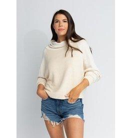 s'edge Liv Cowl Neck Sweatshirt Cream