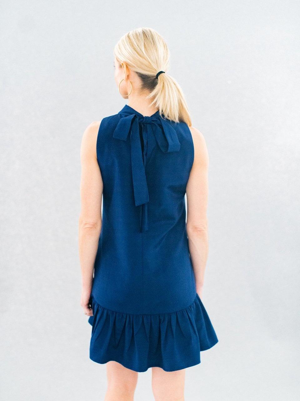 La Roque Navy Libba Dress