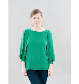 La Roque Victoria Emerald Top