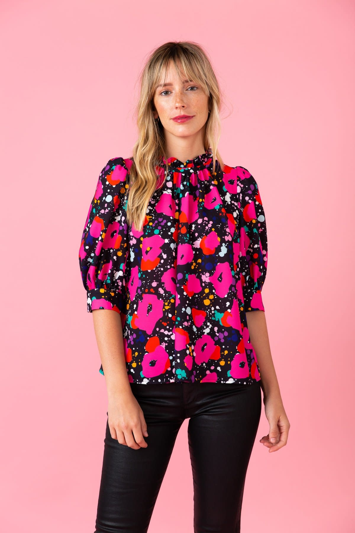 Crosby By Mollie Burch Grace Top in Candyland