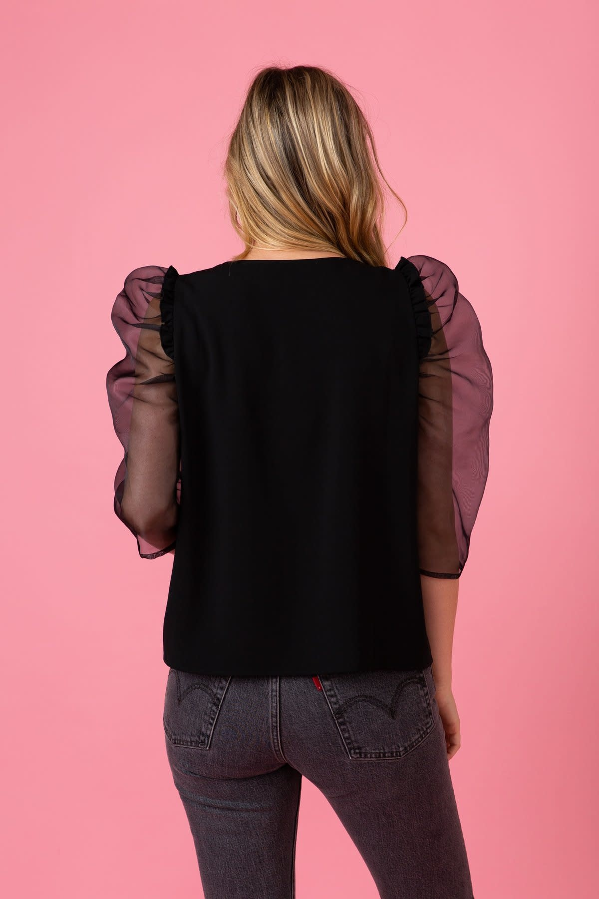 Crosby By Mollie Burch Keeva Top in Black