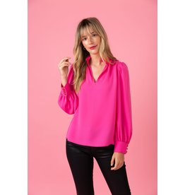 Crosby By Mollie Burch Lyla Blouse Mollie Pink