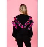 Crosby By Mollie Burch Oliver Jumper Black and Candyland