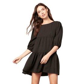 BB Dakota Brocade the Rules Dress Black