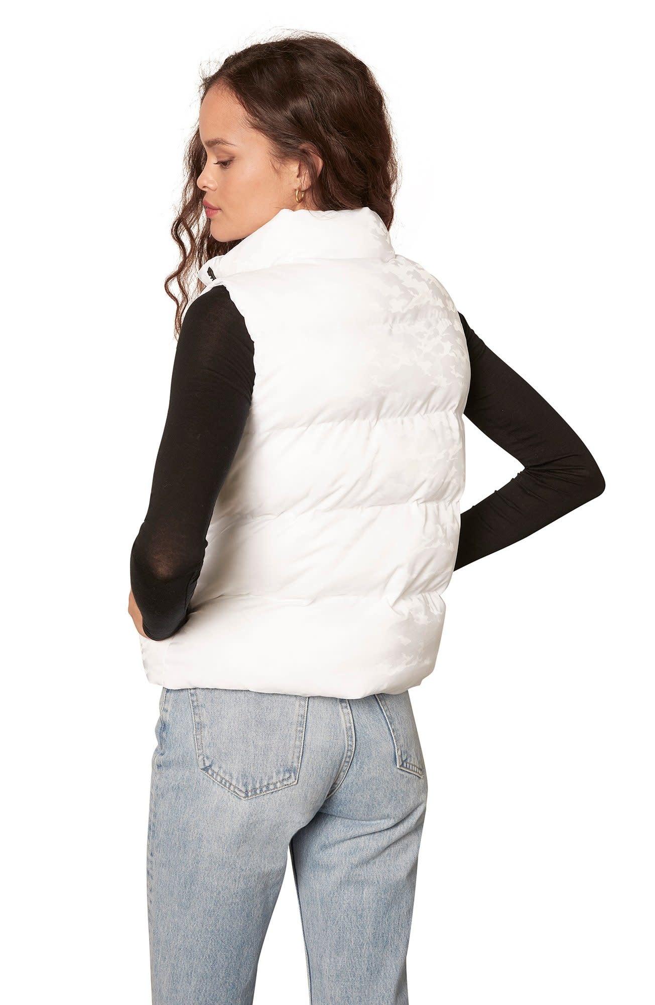 BB Dakota Going Gets Puff Vest Optic White