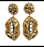 Allie Beads Lips Earrings