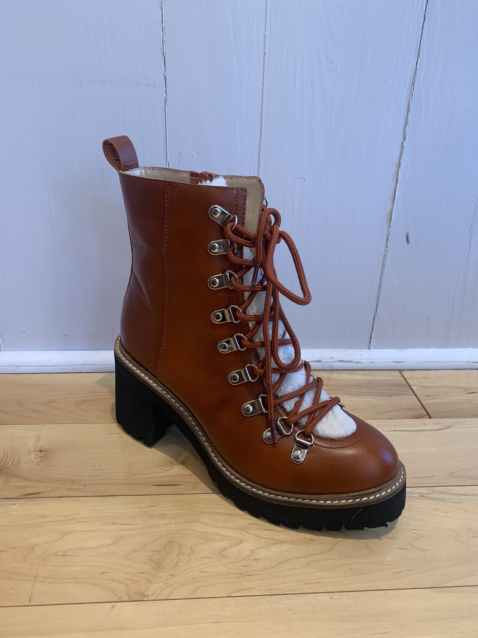 Jeffrey Campbell Owhat Rust Bootie