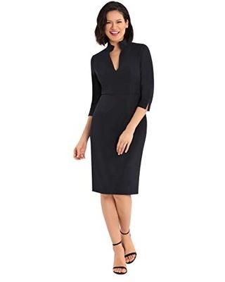 Donna Morgan Fae Classic Black Dress