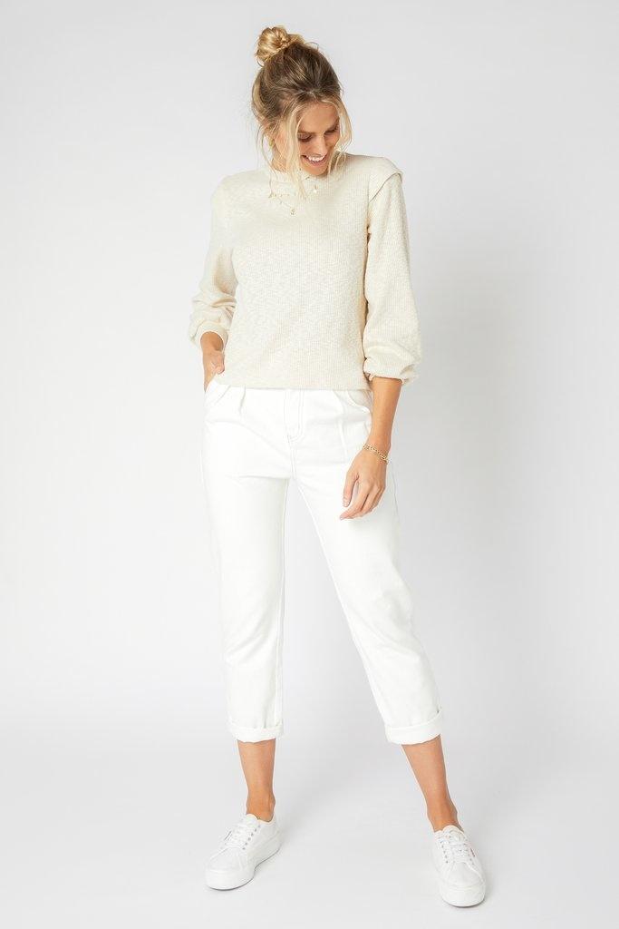 MINKPINK Austyn Sweater in Cream