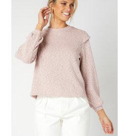 MINKPINK Austyn Sweater in Dusty Pink