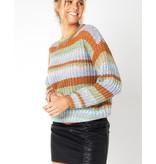 MINKPINK Carol Stripe Knit Jumper