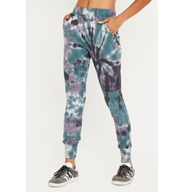 Project Social T Rolling Tie Dye Thermal Pants