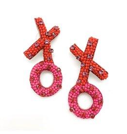 Allie Beads XO Earrings