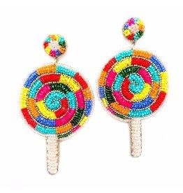 Allie Beads Lollipop Earrings