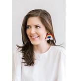 Allie Beads Rainbow Earrings