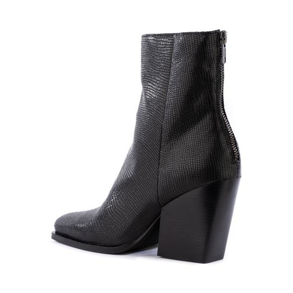 Seychelles Everytime You Go Black Lizard Boot