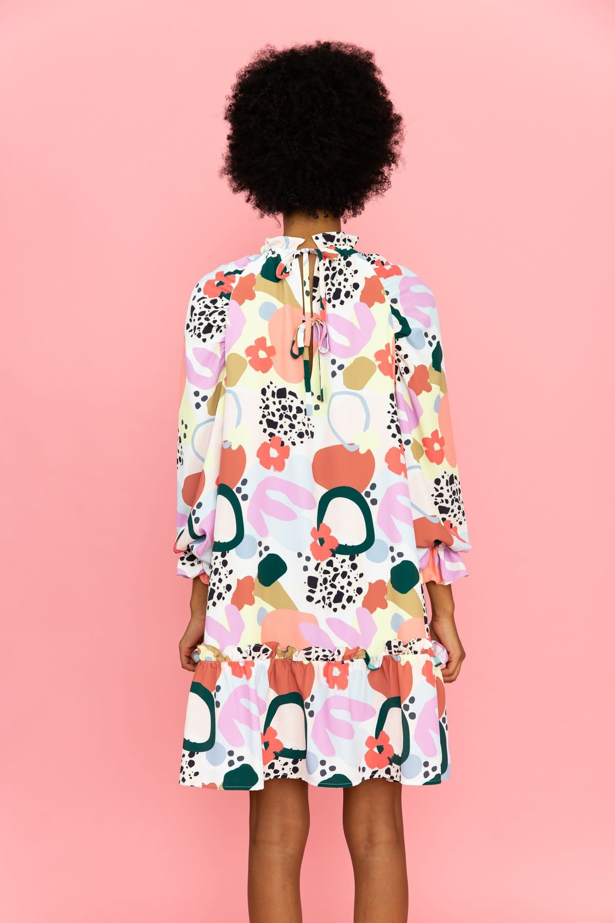 Crosby By Mollie Burch Flynn Dress in Terrazzo