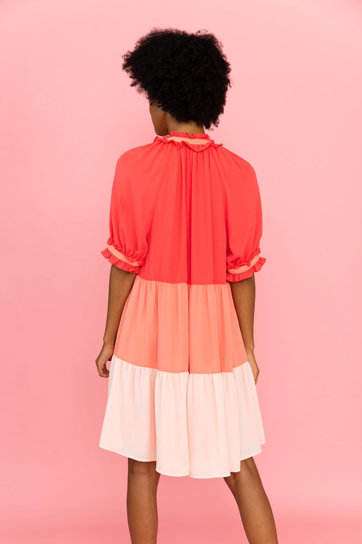 Crosby By Mollie Burch Isabelle Dress in Rose Mix