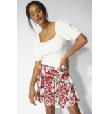 MINKPINK Kind Words Floral Mini Skirt