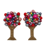 Allie Beads Bright Bubbly Champagne Earrings