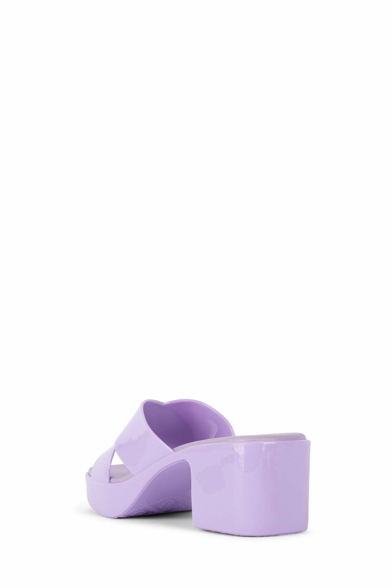 Jeffrey Campbell Bubblegum Lilac Jelly Sandal
