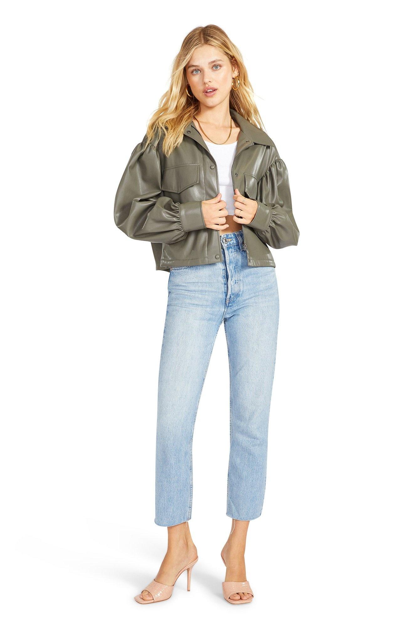 BB Dakota Love On Crop Shirt Jacket