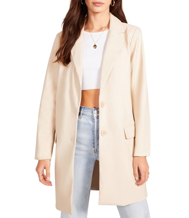 BB Dakota Model Behavior Faux Leather Coat