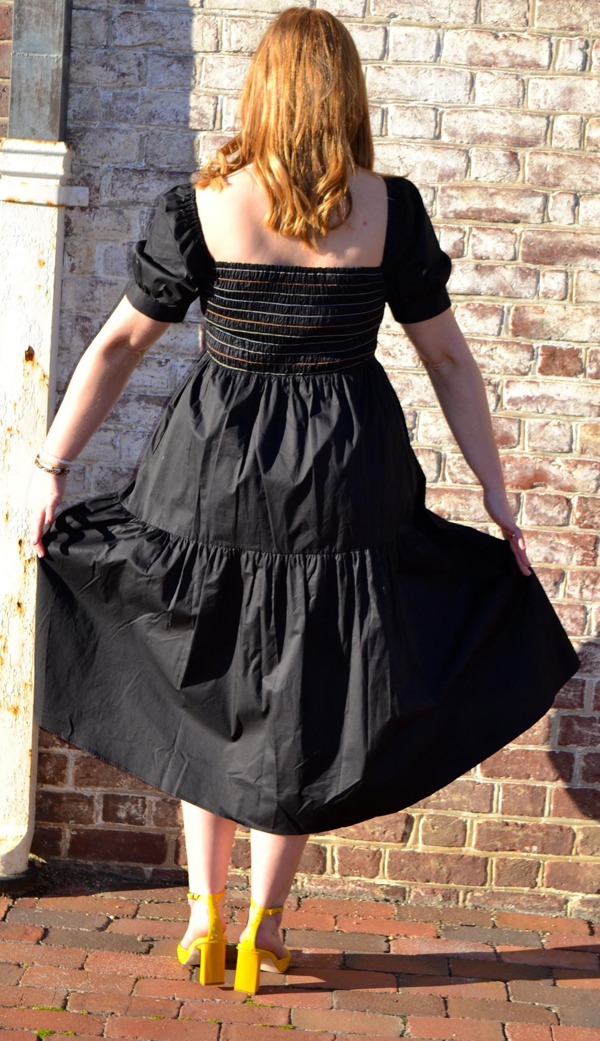 Crosby By Mollie Burch Wilder Dress in Black