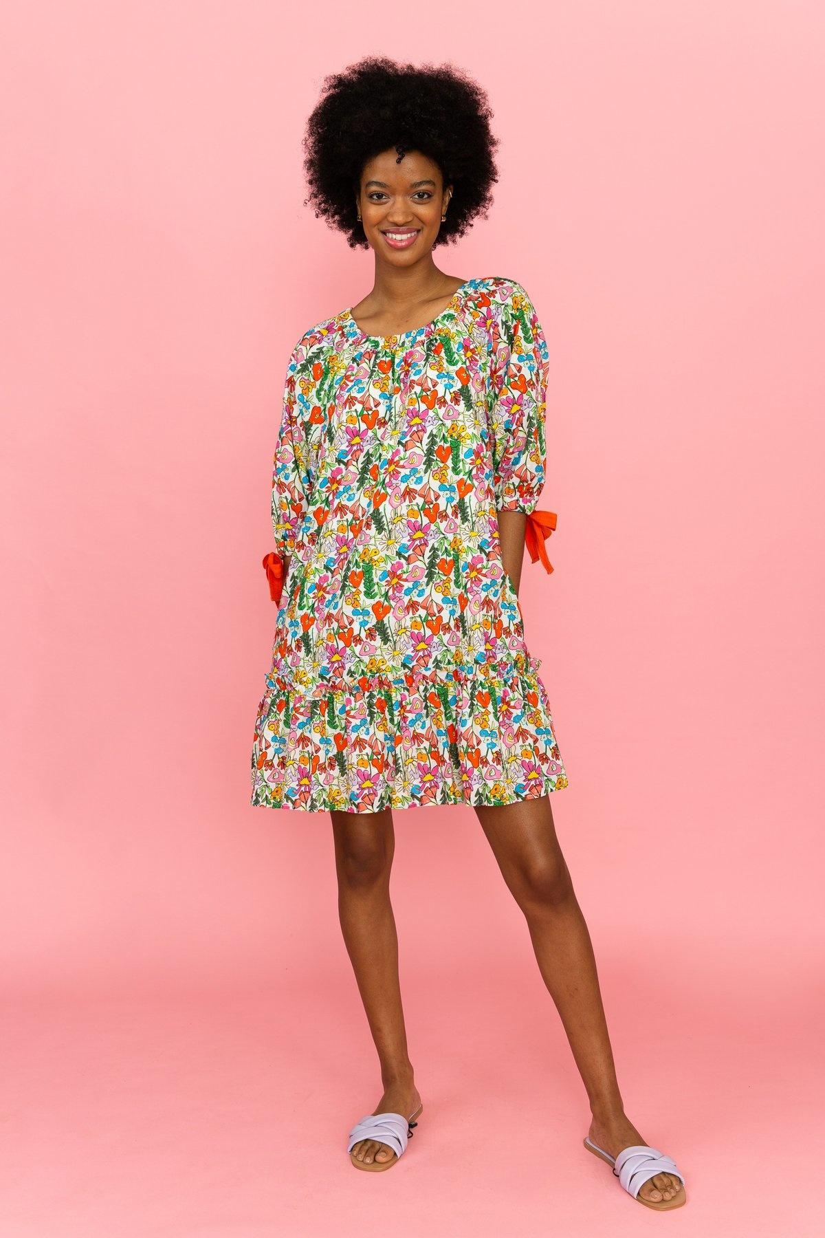Crosby By Mollie Burch Amelia Dress Giverny