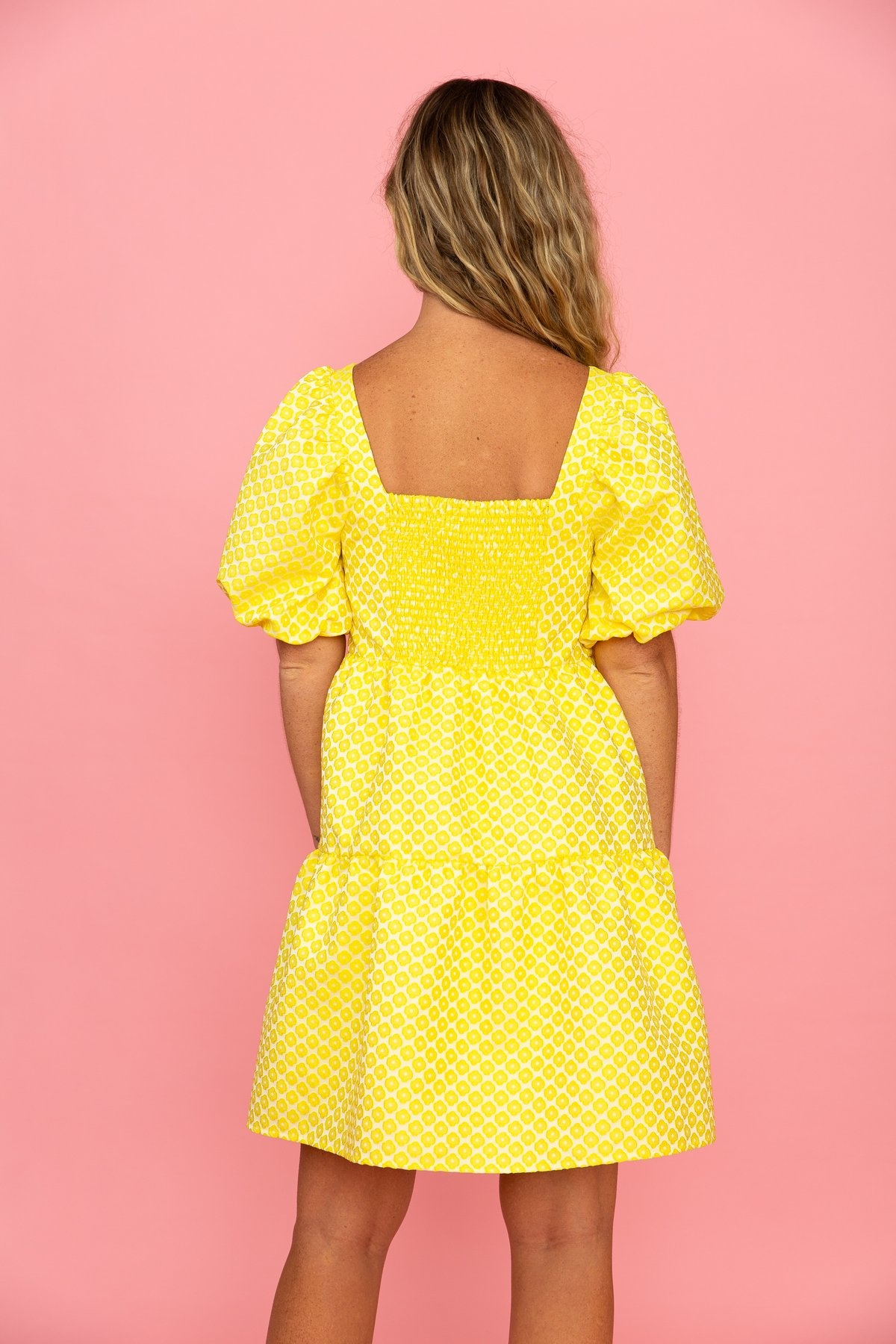 Crosby By Mollie Burch Saylor Dress Buttercup