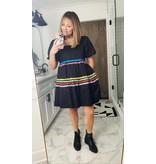 Crosby By Mollie Burch Saylor Dress Black