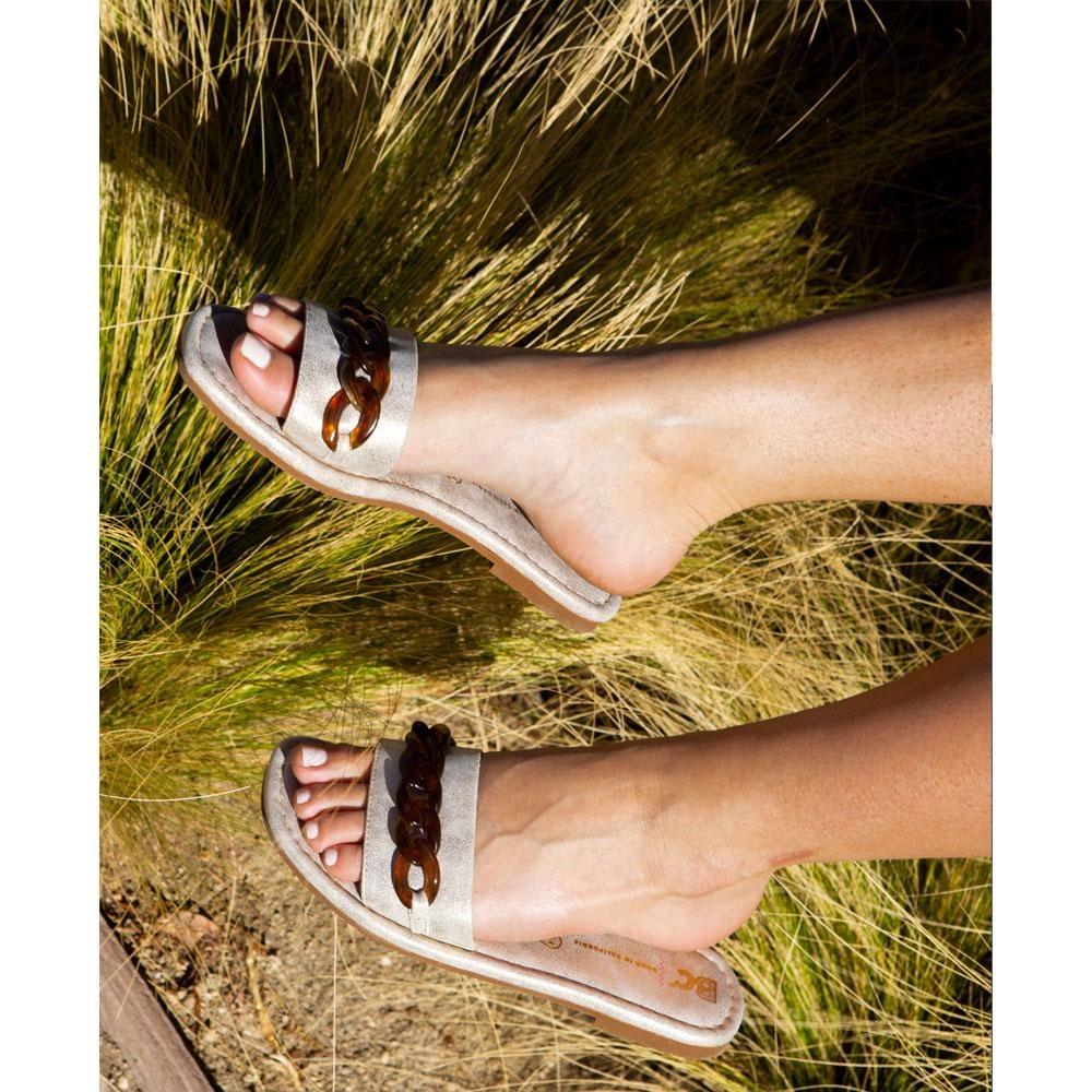 Appearance Gold Sandal