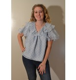 Crosby By Mollie Burch Poppy Top in Ether