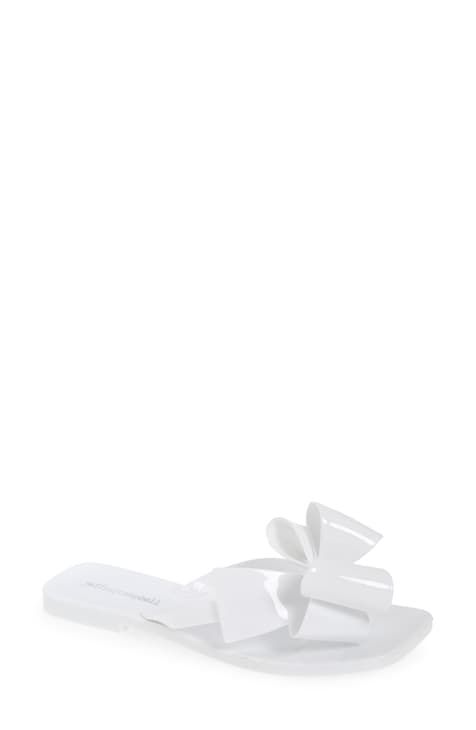 Jeffrey Campbell Sugary White Flip Flop