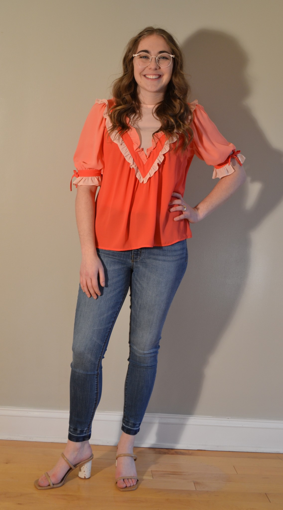 Crosby By Mollie Burch Addy Top in Rose Mix