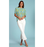Olivia James the Label Daisy Top in Spring Scatter