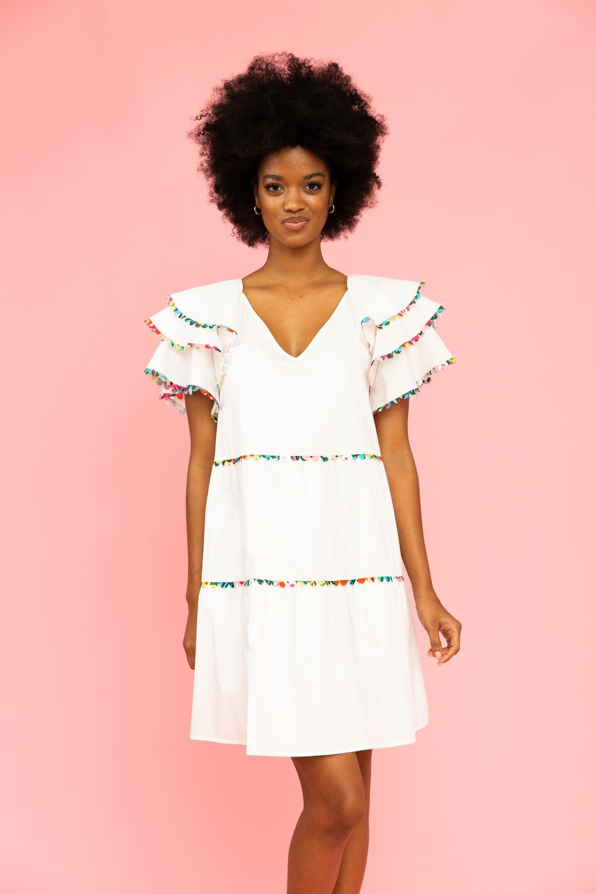 Crosby By Mollie Burch Lydia Dress in White