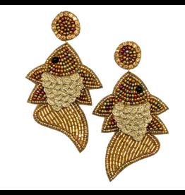 Allie Beads Goldfish Earrings