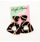 Olivia Paddle Earrings